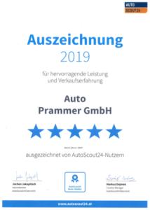 Auto Prammer_AutoScout24_Auszeichnung_2019