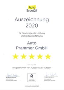 Auto Prammer_AutoScout24_Auszeichnung_2020